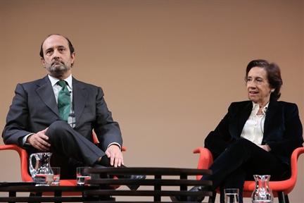 José Luis Álvarez y Victoria Prego