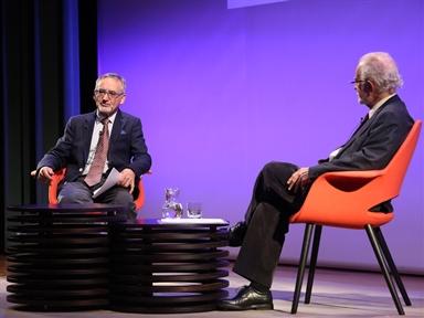 De izda. a drcha.: José Enrique Martínez y José María Merino