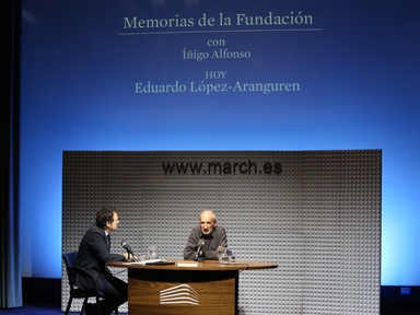 De izda. a drcha.: Íñigo Alfonso y Eduardo López-Aranguren
