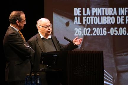 De izda. a drcha.: Manuel Fontán del Junco y Dietmar Siegert