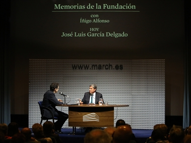 Memories of the Fundación: José Luis García Delgado