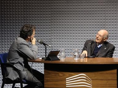 De izda. a drcha.: Íñigo Alfonso y José Manuel Romay Beccaría