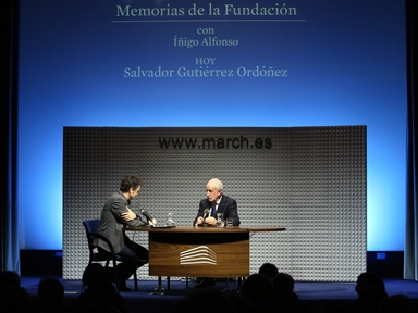 De izda. a drcha.: Íñigo Alfonso y Salvador Gutiérrez Ortoñez