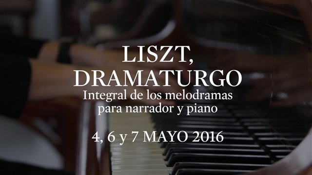 Melodramas (I). Complete Liszt's melodramas for narrator and piano