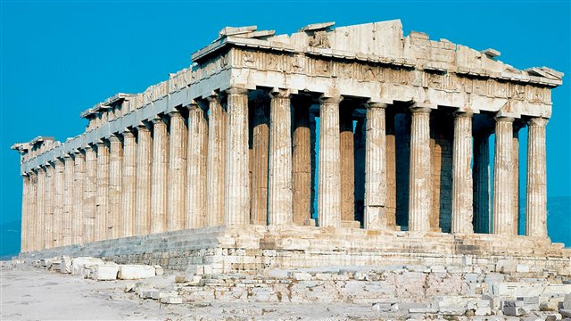 The Parthenon of Pericles. The complexity of a symbol