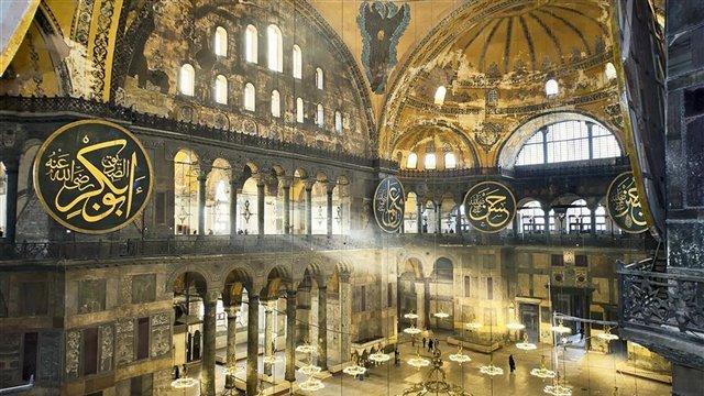 Historical and aesthetic perception of Hagia Sophia