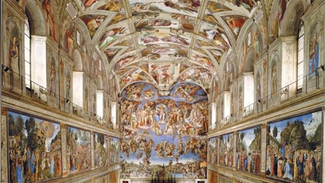 St Peter's Basilica and the Sistine Chapel. A plural monument