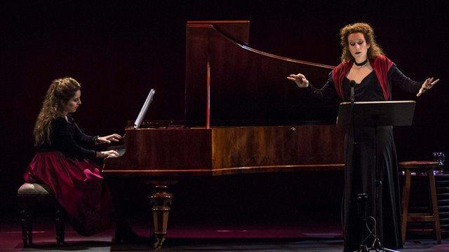 El monje afligido, melodrama de Liszt