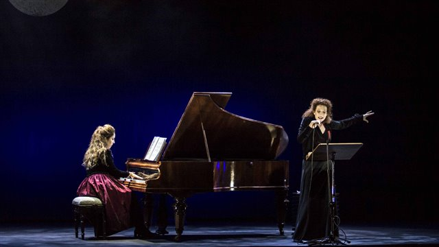 El cantor ciego, melodama de Liszt