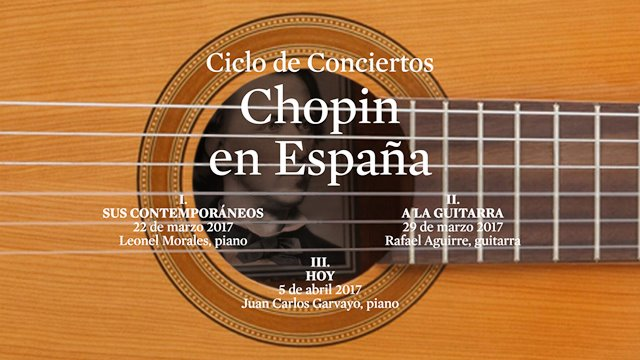"""Chopin in Spain"" series"