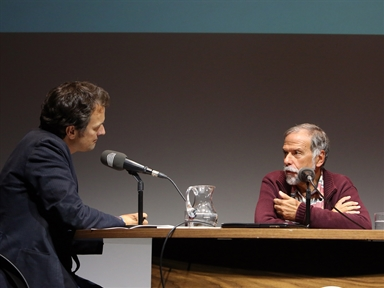 De izda. a dcha.: Íñigo Alfonso y Josep Colom