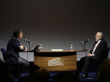 De izda. a drcha.: Íñigo Alfonso y Julio Martínez Calzón