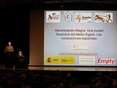 Ciclos de conferencias: Ciudades de la antigüedad mediterránea (I). Heracleópolis Magna (Egipto). Las excavaciones de la misión arqueológica española