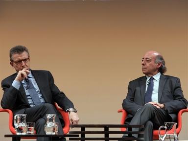 De izda. a drcha.: Francisco Longo y Juan Romo.