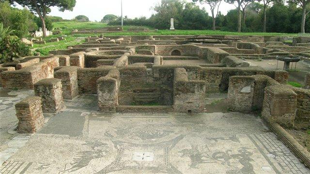 Un paseo por Ostia Antica