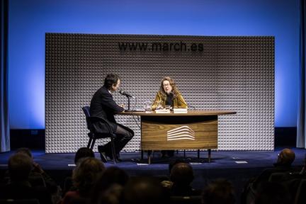 De izda. a drcha.: Íñigo Alfonso y Ana Bejarano