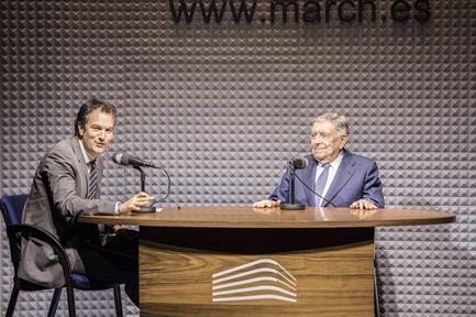 De izda. a drcha.: Íñigo Alfonso y Luis María Anson