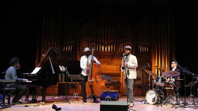 "Davis and Coltrane, by Ivan ""Melón"" Lewis"