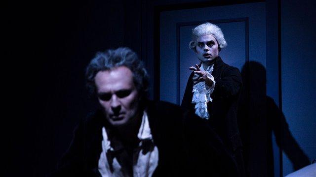 Mozart y Salieri, de Rimski-Kórsakov