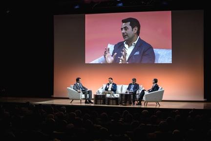 De izda. a drcha.: Íñigo Alfonso, Manuel Arias Maldonado, Mario Tascón y Antonio San José