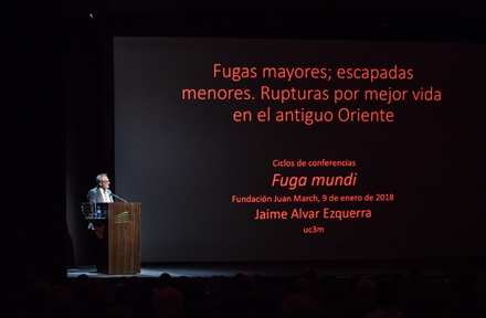 Lecture Series : Fuga mundi (I). Major escapes; minor getaways. Breaks for a better life in the Ancient East