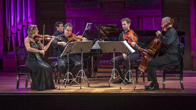 Bretón: Quinteto con piano y cuerda en Sol mayor