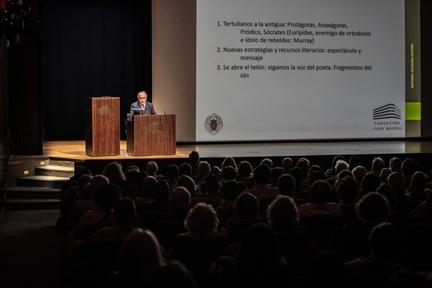 Lecture Series: Teatro griego: origen, autores y puesta en escena (IV). El teatro de Eurípides: revisión de algunas estrategias dramáticas