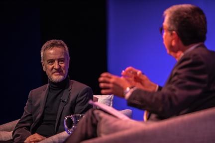 De izda. a drcha.: Carlos Hipólito y Antonio San José