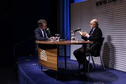 De izda. a drcha.: Íñigo Alfonso y Javier Tejada