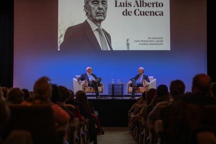 De izda. a drcha.: Francisco Javier Puerto Sarmiento y Luis Alberto de Cuenca