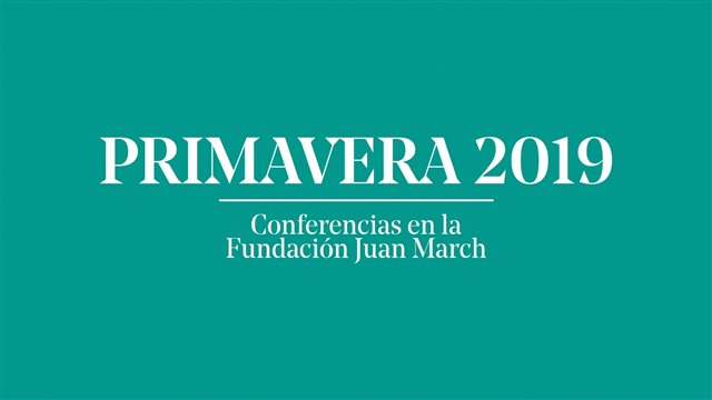 Conferencias: Primavera 2019