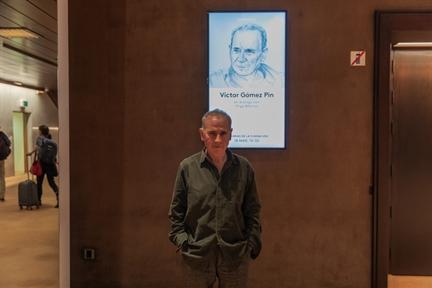 De izda. a drcha.: Íñigo Alfonso y Víctor Gómez Pin