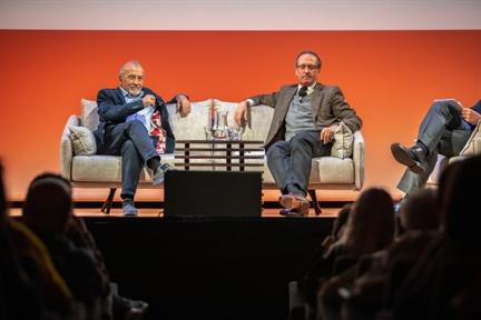 De izda. a drcha.: Juan Bordes y Manuel Fontán del Junco