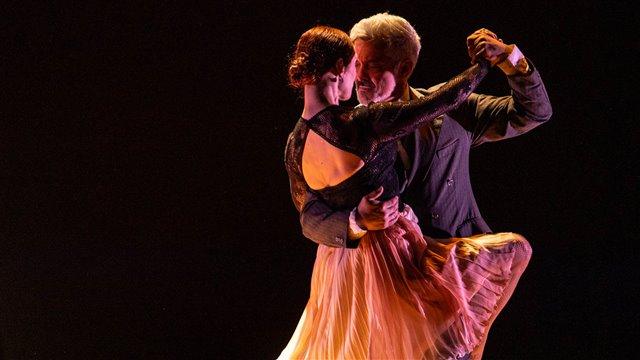 Coreografías musicales. Tango bailado