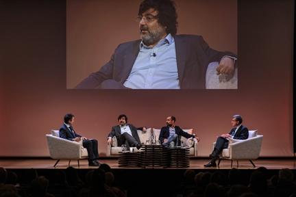 De izda. a drcha.: Íñigo Alfonso, Miguel Aguilar, Daniel Arjona y Antonio San José
