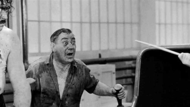 """Tiempos modernos"" (1936) deCharles Chaplin"