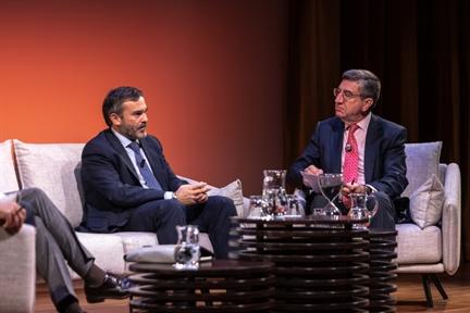 De izda. a drcha.: Pablo López y Antonio San José