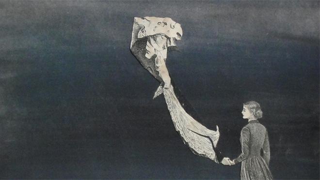 Sin título (detalle), 1939. Témpera y collage sobre papel, 31 x 23,5 cm. Colección Silvia Batlle. © Juan Batlle Planas