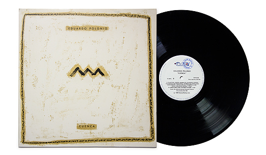 "Eduardo Polonio, ""Cuenca"" (Madrid: Nuevos medios), 1988. LP. The Spanish Library of Contemporary Music, Fundación Juan March"