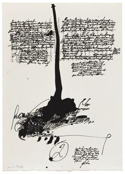 Manolo Millares, 'Descubrimientos Millares, 1671' [Discoveries Millares 1671], 1971