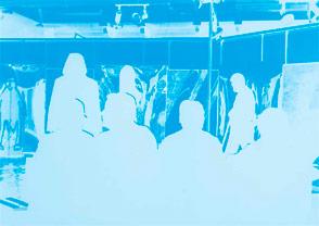 Javier Maderuelo, Madrid vivo, 1982. Obra sonora para la exposición Solo Madrid Arte Joven (colectivo CYAN). Propiedad particular. Foto: Dolores Iglesias/Fundación Juan March