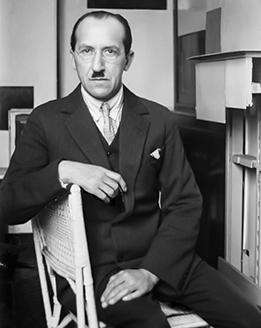 Piet Mondrian in his studio, Paris, 1926 Photo: André Kertész © André Kertész/Higher Pictures