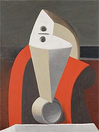 Femme dans un fauteuil [Mujer en un sillón], 1929. Museu coleção Berardo, Lisboa. © Sucession Pablo Picasso, VEGAP. Madrid 2019