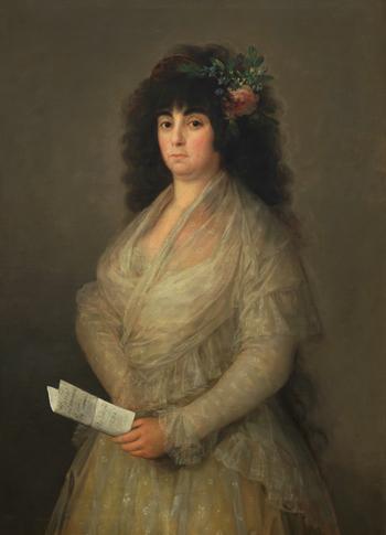 Francisco de Goya, La Tirana, 1794. Colección particular