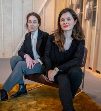 El espacio expositivo por Sara Miguélez y Ángela Juarranz