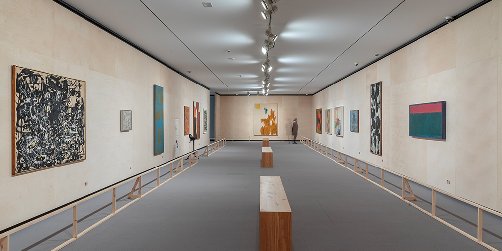 Panoramic view of the second exhibition hall