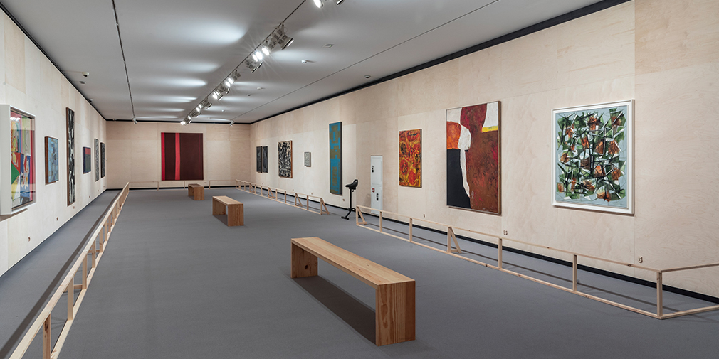 <kbd>Panoramic view of the second exhibition hall</kbd>