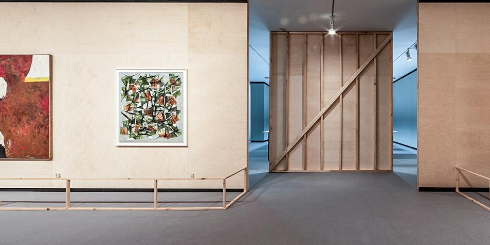 Vista de la segunda sala de la exposición