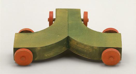 Hermann Finsterlin, Zweifelswagen [Coche dubitativo], c. 1928. Staatsgalerie Stuttgart. Donación de Erben Finsterlin. © bpk / Staatsgalerie Stuttgart