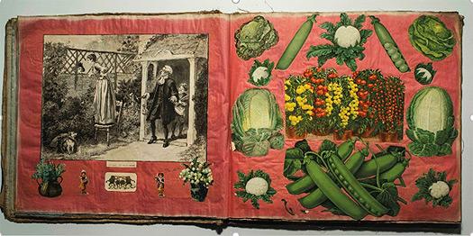 Libro de recortes victoriano. Londres, c. 1880. Colección Juan Bordes, Madrid